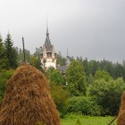 Peles Castle in Sinaia – From Below