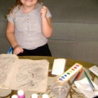Amber Loves to Paint!