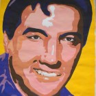 Elvis Presley, 50x70cm, Gouache on Paper