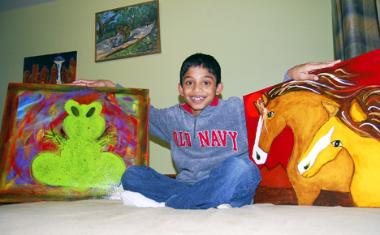 Amazing Kids Spotlight Interview with Chirag Vedullapalli, 10-yr-old