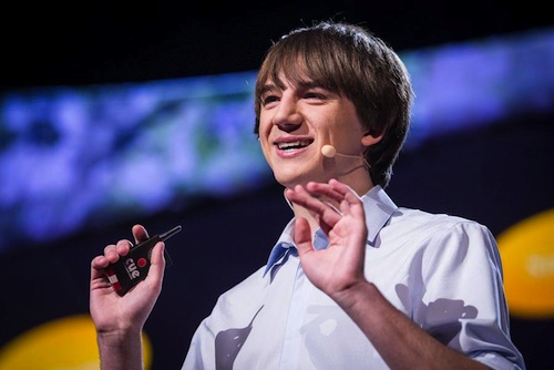 Barely 16-years-old and Jack has already presented at the 2013 TED Conference.