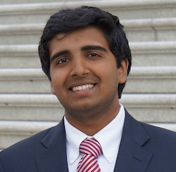 Vaibhav Vavilala, 19-year-old neuroscience scholar.