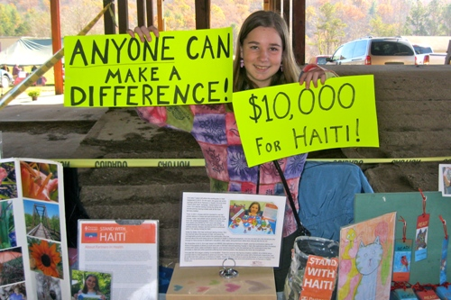 Having just recently surpassed her $10,000 goal, Erin is now working for $20,000.