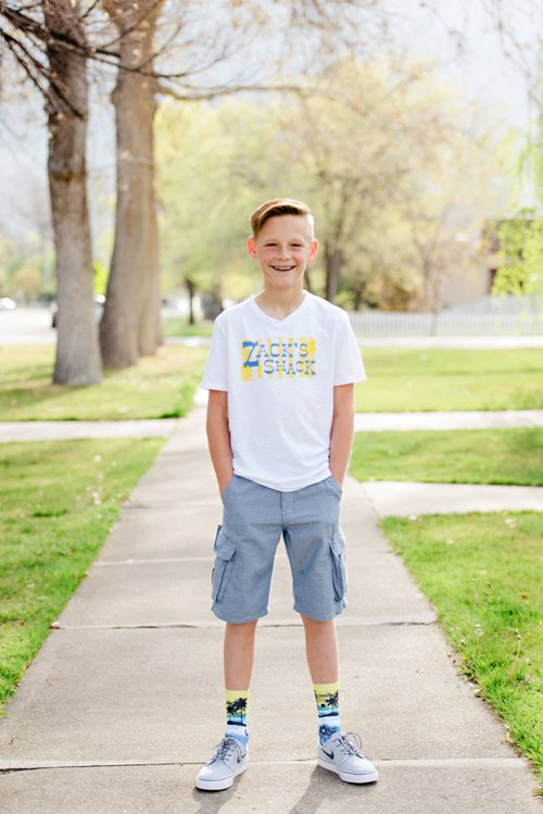 Zach greets every day happily because he knows he is following his heart and making a difference.
