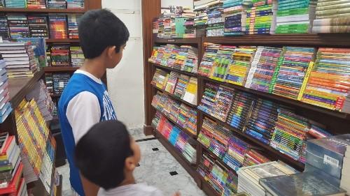 02 AK Columns, Global Village, Kitab Khana, Kitab Khana #2