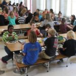 Lunch at Elementary School